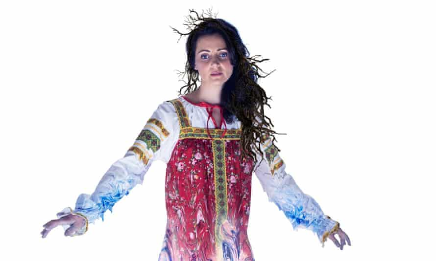 Sacrifice … Aoife Miskelly plays the Snow Maiden in John Fulljames's new production for Opera North.