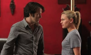 Sookie and Bill from True Blood.