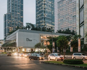 Plaza Indonesia, one of Jakarta's high end shopping centres.