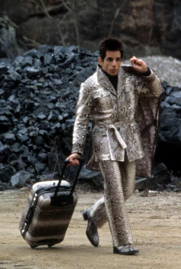 Ben Stiller in Zoolander.