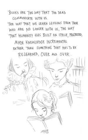 Page 15 of Neil Gaiman and Chris Riddell's book Art Matters. ART MATTERS by Neil Gaiman, illustrated by Chris Riddell is published by Headline on 6th September