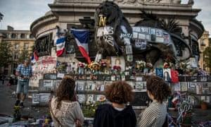 A memorial in Paris.
