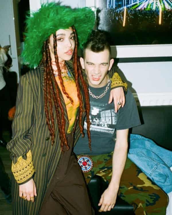 Matty Healy and FKA twigs.