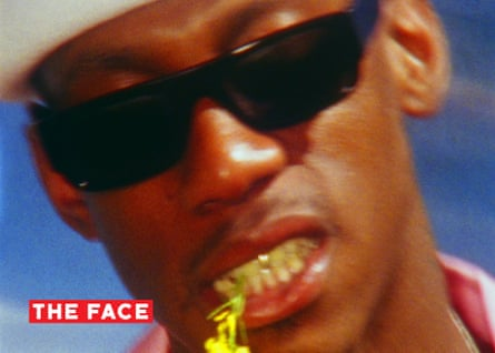 The rapper Octavian features in the relaunched Face.