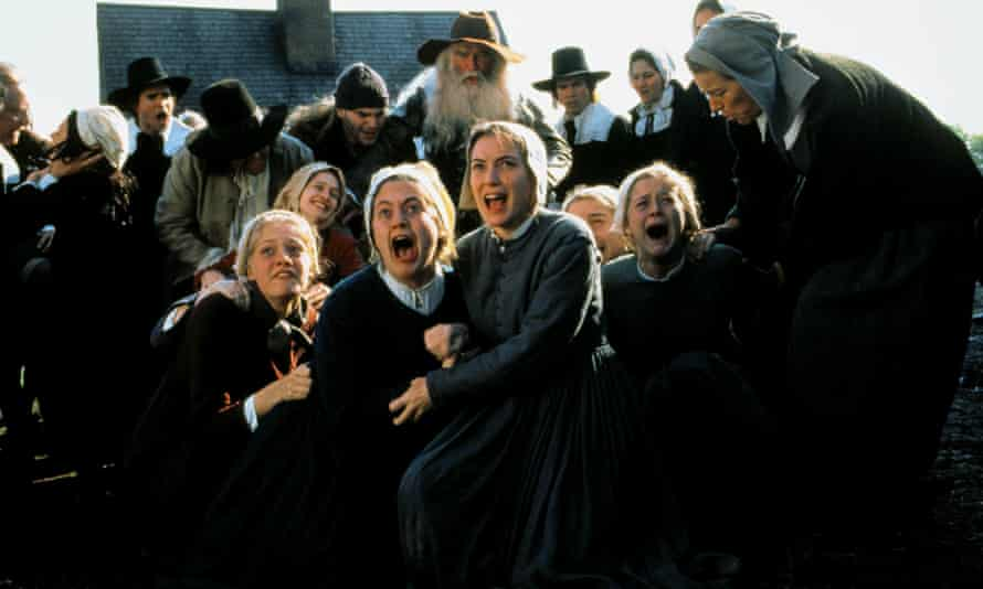 Winona Ryder (front centre) in the 1996 film adaptation of The Crucible.
