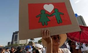 Monterrey City rally against same-sex marriage