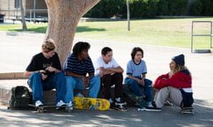 Ryder McLaughlin as Fourth Grade, Na-kel Smith as Ray, Gio Galicia as Ruben, Sunny Suljic as Stevie and Olan Prenatt as Fuckshit in Mid90s.