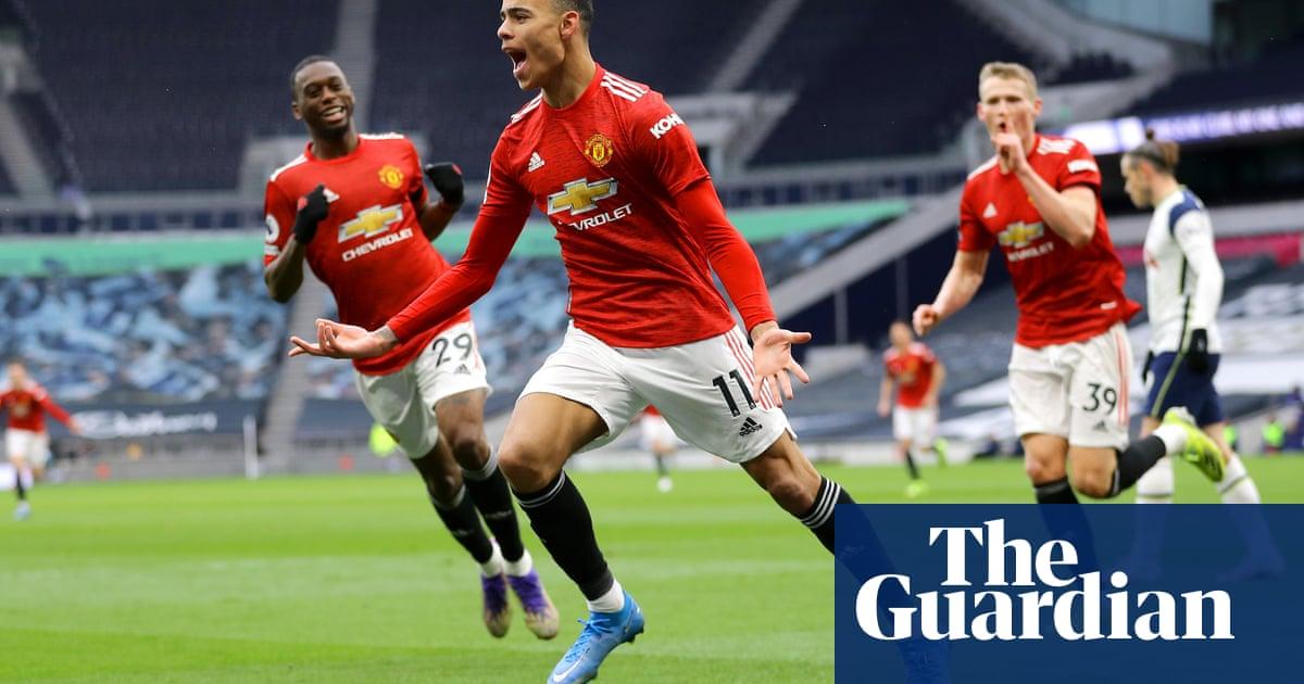 Mason Greenwood seals Manchester United's comeback at Tottenham