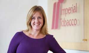 Alison Cooper, outgoing CEO of Imperial Brands.