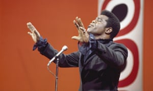 James Brown performing on The Jerry Lewis Show in 1969.