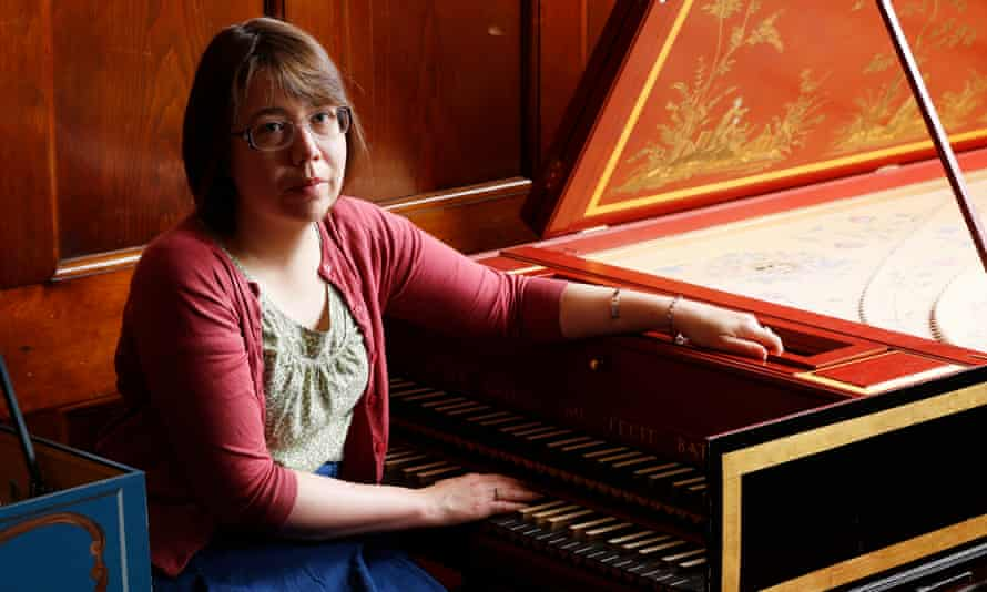 Elizabeth Ford, Scottish history music expert, at Glasgow University.