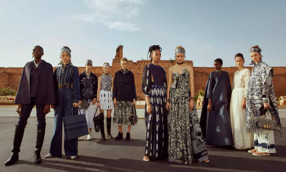 'The choice of Marrakech shows how sharply Dior has changed direction.'