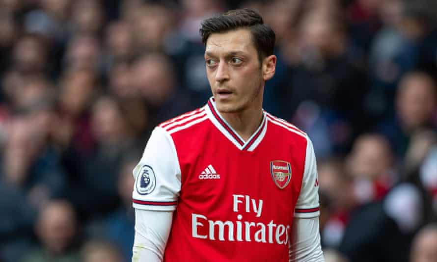 Mesut Özil has not played for Arsenal for seven months and has not been part of any of their matchday squads this season