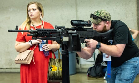 At the NRA Convention in Dallas, Texas.