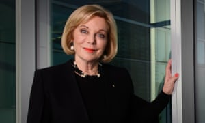 Ita Buttrose at the ABC offices in Sydney