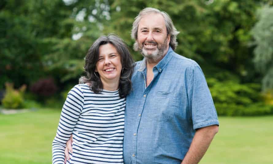 Helen Bailey and her partner Ian Stewart in 2015.