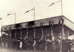 Stade de la Route de Lorient, 1912.
