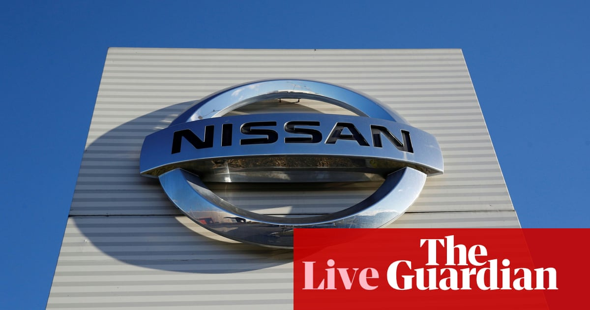 Nissan announces UK's first gigafactory in £1bn Sunderland investment – business live