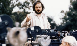 Stanley Kubrick on the set of Barry Lyndon in 1975