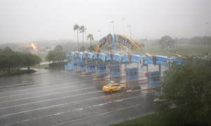 Walt Disney World was among the Florida atractions that closed on Thursday ahead of hurricane Matthew.