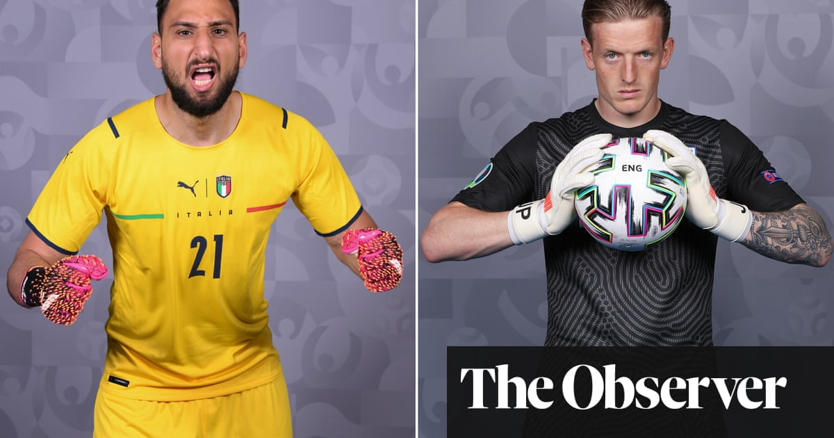 Gianluigi Donnarumma v Jordan Pickford: Battle of the goalkeepers