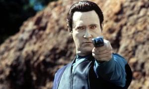 Brent Spiner as Data in Star Trek: Insurrection