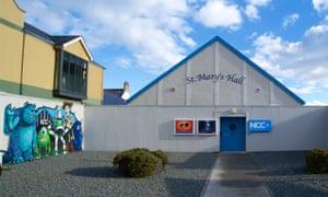 Exterior of Newcastle Community Cinema, Northern Ireland.