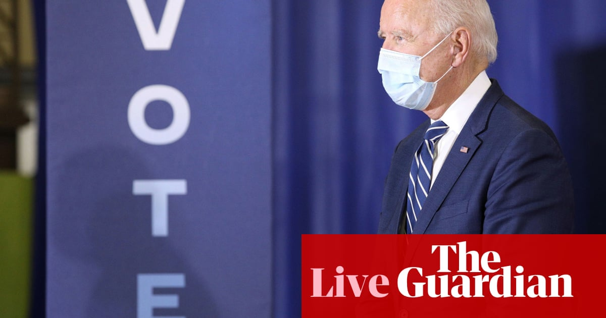 Joe Biden criticises Donald Trump for renewed Fauci attack over Covid – US politics live