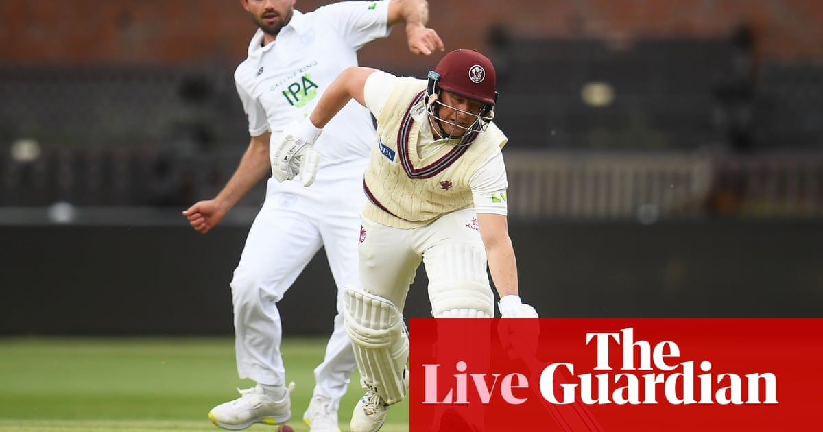Somerset v Hampshire, Glamorgan v Yorkshire and more: county cricket – live!