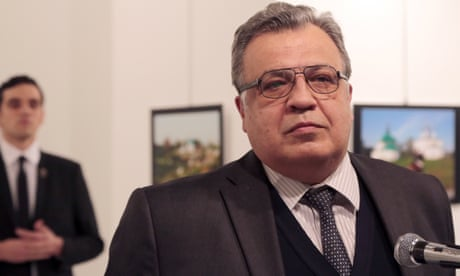 Russian ambassador to Turkey shot dead by police officer in Ankara gallery
