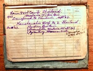 Bill Norways' medical record.