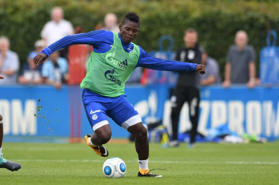 Breel Embolo is ready to lead the line for Schalke 04 this season