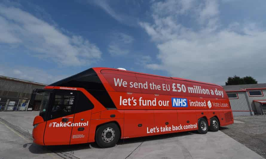 'We have been clear that Vote Leave's claim that Brexit would free up £350m a week to be spent on the NHS is not just embellished or poorly worded, but simply untrue.'
