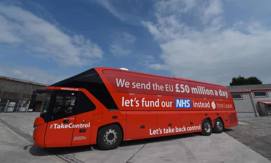 The Vote Leave battle-bus.