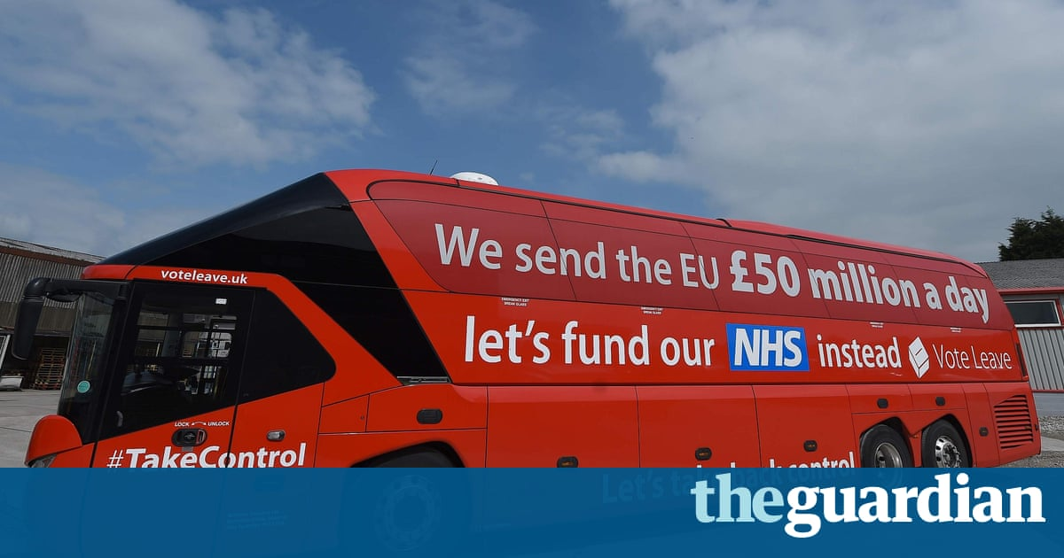 The leave campaign made three key promises – are they keeping them? | Politics | The Guardian