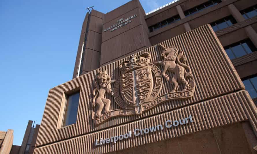 Liverpool crown court building