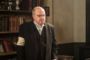 As Arthur Lowe in We're Doomed! The Dad's Army Story, a 2015 film about the making of the comedy classic.