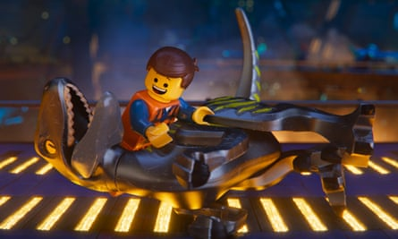 Emmet, voiced by Chris Pratt, in The Lego Movie 2: The Second Part.