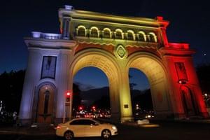 Los Arcos Monument, Guadalajara, Mexico