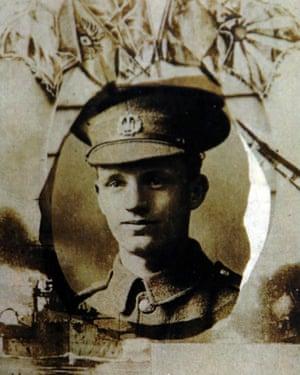 Pte William Marmon of the 10th Battalion Essex Regiment.