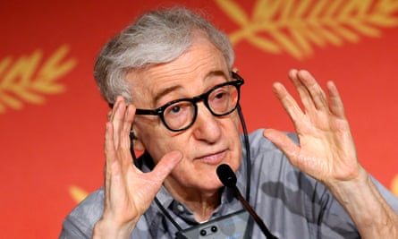 'I've worked with hundreds of actresses. Not one of them has complained about me' … Woody Allen