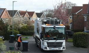 Council workers take recycling in Chester-le-Street