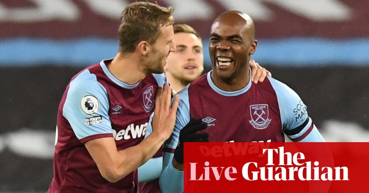 West Ham v Aston Villa: Premier League –live!