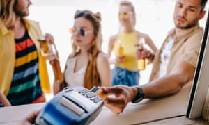 Last year Britons paid £195m for using their credit and debit cards abroad.
