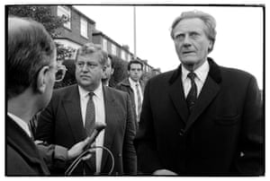 Michael Heseltine visits Scotswood in 1992 in the wake of the rioting that occurred there in September the previous year