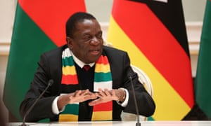 'Shun these malcontents and reject their divisive and ruinous plan' ... President Emmerson Mnangagwa.