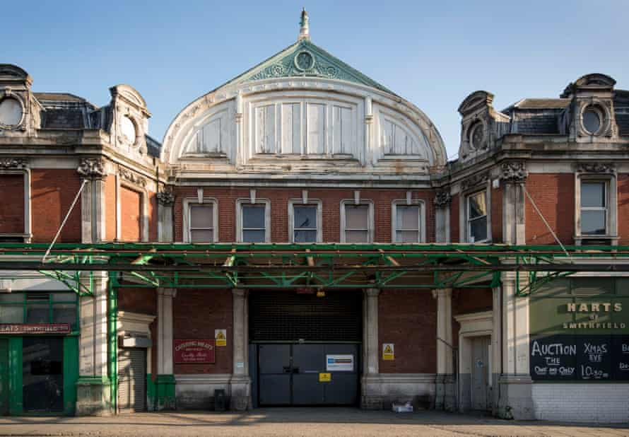 The Victorian buildings of Smithfield General Market are 'themselves a vast, habitable, layered exhibit of the history of London'.