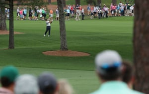But Molinari finds trouble on the 7th, where he drops a shot.
