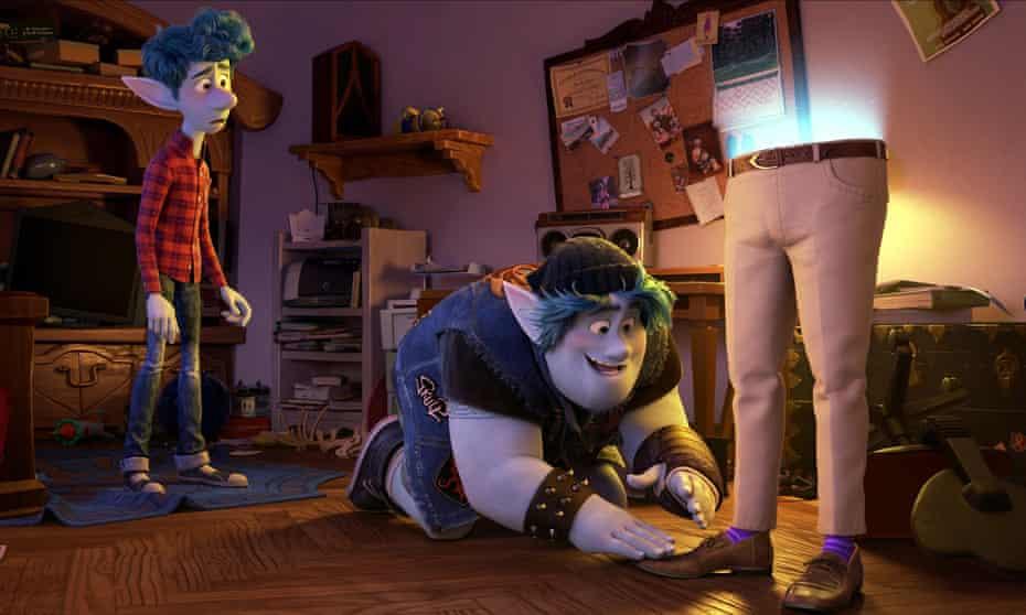Pixar's Onward.