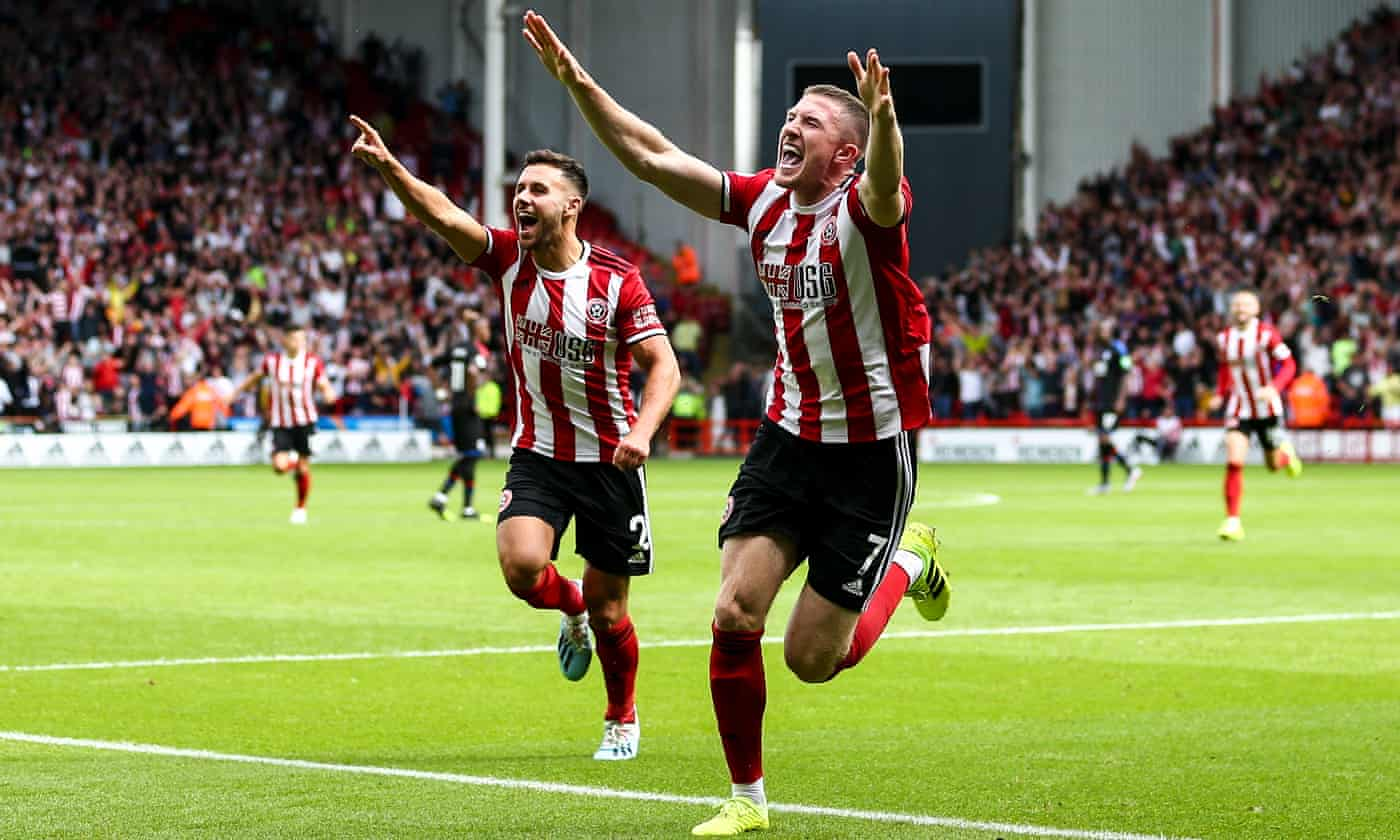 John Lundstram strikes to give Sheffield United victory over Crystal Palace